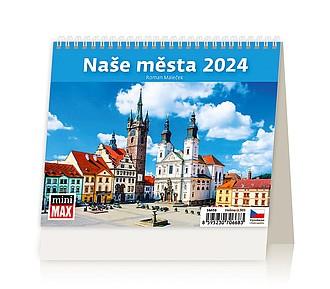 Minimax Chalupy 2020, stolní kalendář