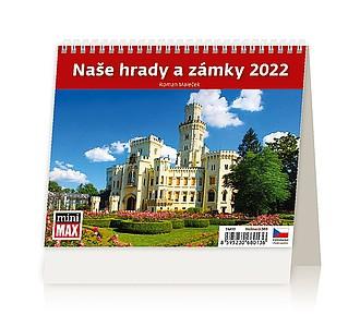 MiniMax Naše hrady a zámky 2020, stolní kalendář