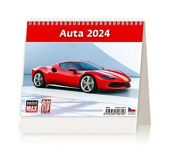 MiniMax Auta 2020, stolní kalendář