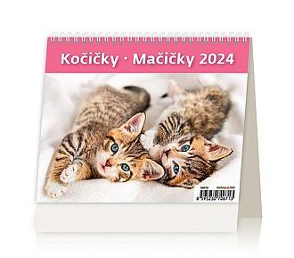 Minimax Kočičky 2020, stolní kalendář