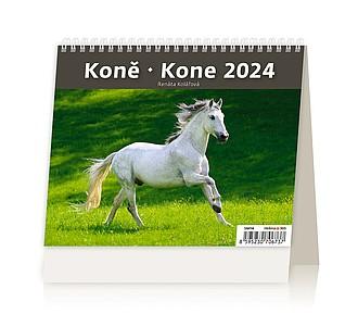 Minimax Koně 2020, stolní kalendář