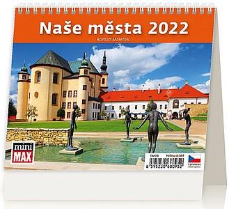 Naše města 2021, stolní kalendář