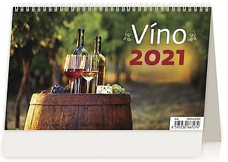 Víno 2021, stolní kalendář