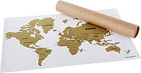 BARCARA Stírací mapa světa