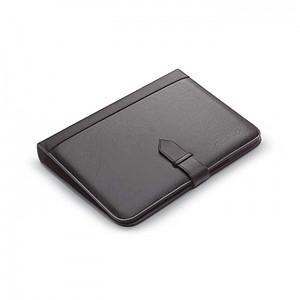 Konferenční desky s kalkulátorem-imitace kůže, černá