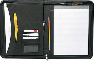 POSLANEC konferenční desky A4 sblokem, černá