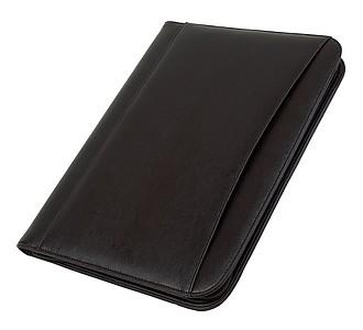 Konferenční desky A4 s kalkulačkou, černé