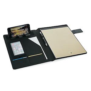 BYRON Desky na dokumenty s magnetickým zavíráním, A4, černé