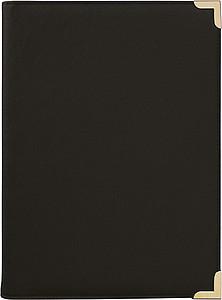 PREMIÉR konf.desky A4 z PU, černá