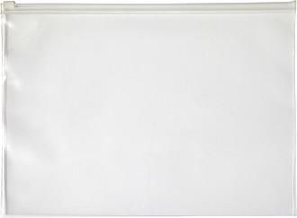 Transparentní PVC sloha na dokumenty A4, neutrální