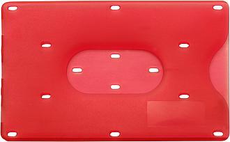 BANKO Obal na kreditní kartu, červený