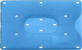 BANKO Obal na kreditní kartu, modrý