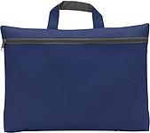 OXIDO Taška na dokumenty na zip, 300d polyester, tmavě modrá