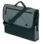 taška na dokumenty 600 D pol., černá, šedá