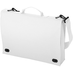 Jednoduchá taška na dokumenty, bílá