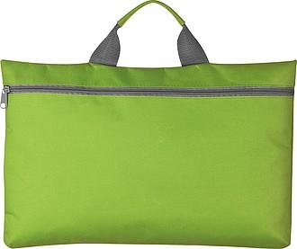 Taška na dokumenty s uchem, zelená