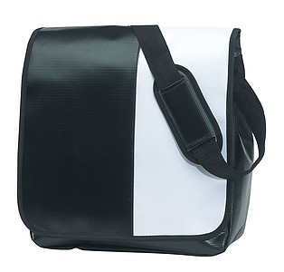 Taška přes rameno, černá bílá
