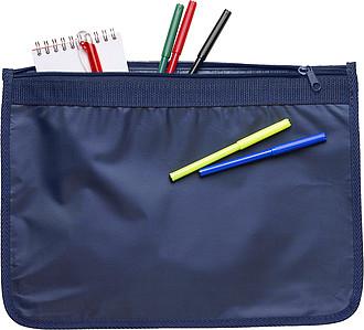 DELEGÁT nylonová taška na dokumenty, modrá