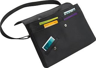 Taška na dokumenty, lze nosit i na zádech jako batoh