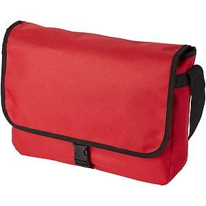Taška s nastavitelným popruhem a sponou, červená