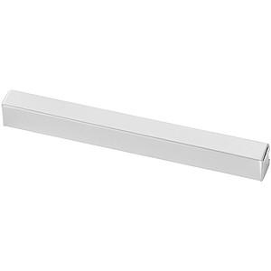 Bílá papírová krabička na jedno pero