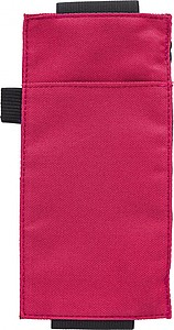 Kapsa s elastickou gumou na zápisník, červená