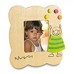 SANTINO Dřevěný rámeček na fotografie, zelená