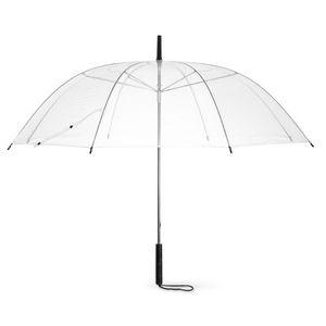 BODA Transparentní osmipanelový automatický deštník