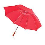 CHOPIN Manuální golfový deštník s kovovou konstrukcí, červená