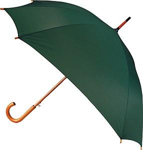 LOPEZ Deštník ve tvaru čtverce, zelená, 89cm x pr.104 cm