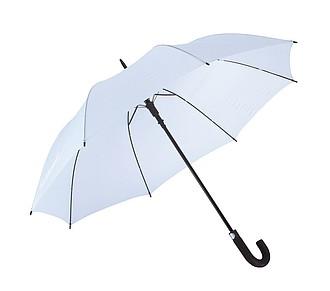 TISSOT Klasický automatický deštník, pr. 119cm, bílá - reklamní deštníky
