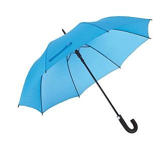TISSOT Klasický automatický deštník, pr. 119cm, světle modrá - reklamní deštníky