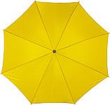 ACHILLE Automatický deštník, žlutý, rozměry 100 x 89 cm