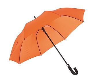 TISSOT Klasický automatický deštník, pr. 119cm, oranžová - reklamní deštníky