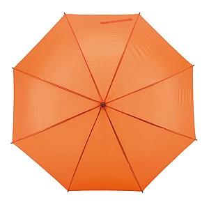 TISSOT Klasický automatický deštník, pr. 119cm, oranžová