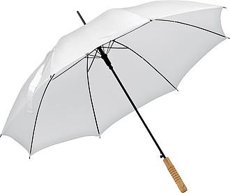 Deštník, automatické otvírání, bílá