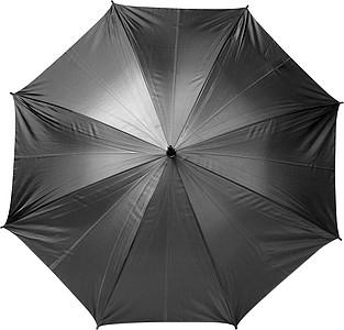 ANATOL Automatický deštník v obalu, černý, rozměry 90 x 124 cm - reklamní deštníky