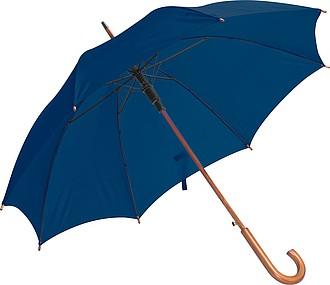 Deštník, automatické otvírání, tmavě modrá