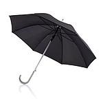 Automatický deštník s hliníkovou rukojetí, černá