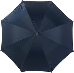LAURENT Vystřelovací deštník se stříbrnou spodní stranou, modrý, rozměry 104 x 83 cm - reklamní deštníky