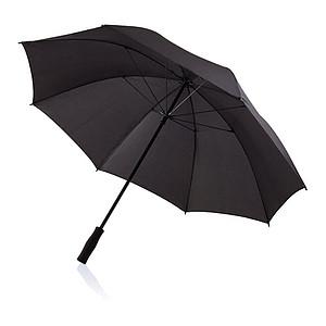 Velký manuální deštník s konstrukcí ze skelných vláken, černá