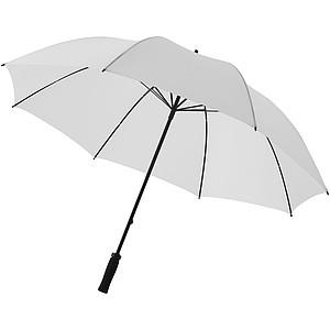 DEBUSSY Polyesterový deštník, průměr 130cm, bílá