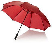 DEBUSSY Polyesterový deštník, průměr 130cm, červená - reklamní deštníky