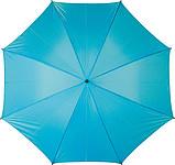 ERNST Golfový deštník, světle modrý, rozměry 130 x 102 cm