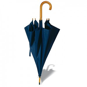 Automatický holový deštník, modrá