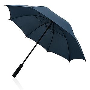 Deštník se sklolaminátovou konstrukcí, tmavě modrý