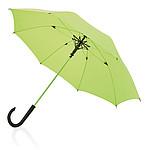 Deštník se sklolaminátovou konstrukcí, neonově zelený