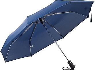 Deštník, automatické otvírání, modrá