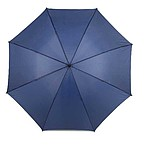 Klasický deštník s reflexním okrajem, modrý