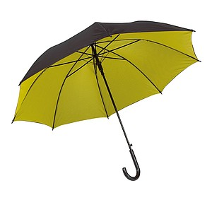 RICHTER Klasický automatický deštník, pr.103cm, černo žlutý